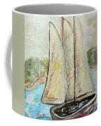 On A Cloudy Day - Impressionist Art Coffee Mug