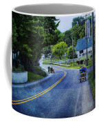 On A Country Road - Lancaster - Pennsylvania Coffee Mug