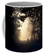 On A Morning Jog Coffee Mug