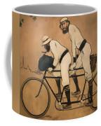 On A Tandem Coffee Mug
