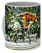 On A Winter Day Coffee Mug by Steve Harrington