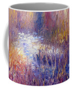On Frozen Pond Coffee Mug