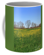 On Golden Field Coffee Mug