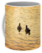 On Golden Pond Ducks Coffee Mug