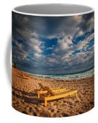 On Golden Sands Coffee Mug