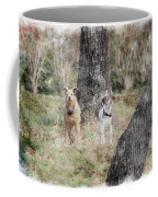 On Guard - Featured In Comfortable Art Group Coffee Mug