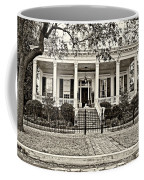 On Guard In New Orleans Sepia Coffee Mug