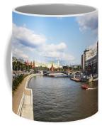 On Moscow River - Russia Coffee Mug