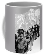 On Mount Blanc Coffee Mug