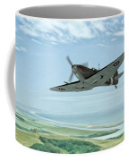 Spitfire On Patrol Coffee Mug