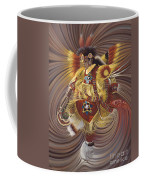 On Sacred Ground Series 4 Coffee Mug by Ricardo Chavez-Mendez