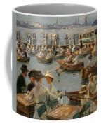 On The Alster In Hamburg Coffee Mug
