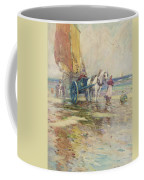 On The Beach  Coffee Mug by Oswald Garside