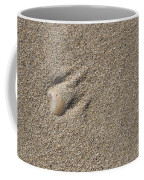 Shell On The Beach Coffee Mug
