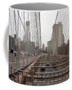 On The Brooklyn Bridge Coffee Mug