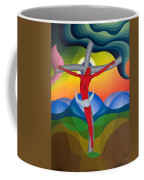 On The Cross Coffee Mug by Emil Parrag