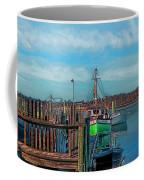On The Dockside Bristol Rhode Island Coffee Mug
