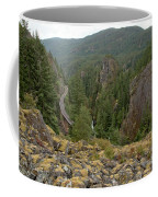 On The Edge Of The Cheakamus River Gorge Coffee Mug