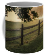 On The Fence Coffee Mug by Bill Wakeley