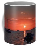 On The Gulf At Sunset Coffee Mug