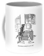 On The Internet Coffee Mug