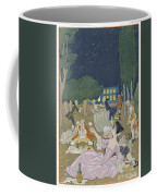 On The Lawn Coffee Mug by Georges Barbier