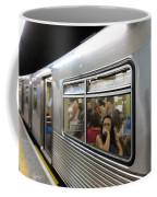 On The Metro - Sao Paulo Coffee Mug