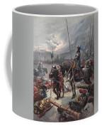 On The Night Of Marignan, Illustration Coffee Mug