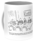 On The One Hand Coffee Mug by Robert Mankoff