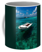 On The Peaceful Waters. Maldives Coffee Mug