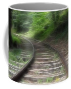 Victorian Locomotive Tracks Coffee Mug