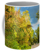 On The Road To Autumn Coffee Mug