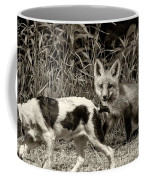 On The Scent Sepia Coffee Mug by Steve Harrington