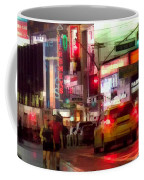 On The Town - Times Square Coffee Mug