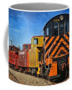 On The Tracks Coffee Mug