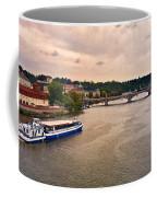 On The Vltava River - Prague Coffee Mug