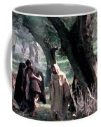 On The Way To Gethsemane Coffee Mug