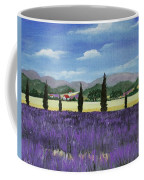 On The Way To Roussillon Coffee Mug