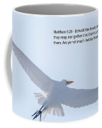 On The Wings Of Flight Coffee Mug