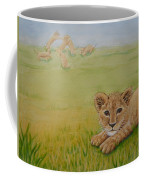 Once There Was A Lion Named Leo Coffee Mug