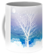 Once Upon A Moon Lit Night... Coffee Mug by Holly Kempe