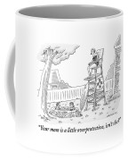 One Child To Another Coffee Mug by Mick Stevens