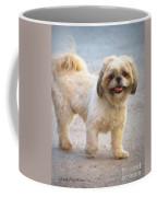 One Happy Little Dog Coffee Mug