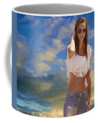 One Hot Day Coffee Mug