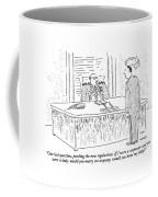 One Last Question Coffee Mug by Robert Mankoff