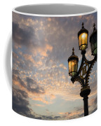 One Light Out - Westminster Bridge Streetlights - River Thames In London Uk Coffee Mug