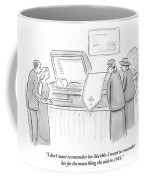 One Mourning Woman At A Funeral Comments Coffee Mug
