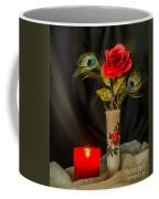 One Red Christmas Rose Coffee Mug