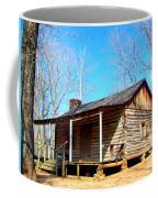 One Room Pioneer Log Cabin  Coffee Mug