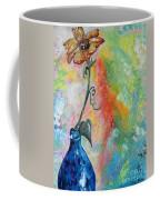 One Solitary Flower Coffee Mug by Eloise Schneider